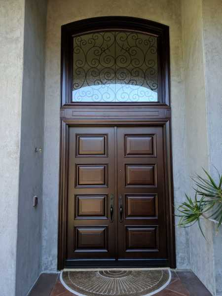 image detail page for Accoya-Solid-Door