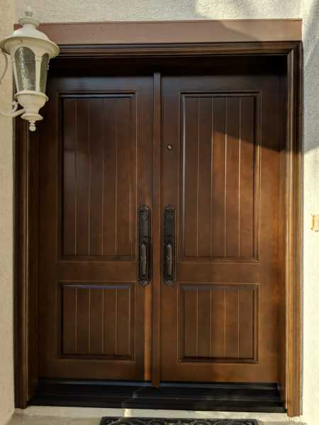 image detail page for No_Glass_Accoya_Doors