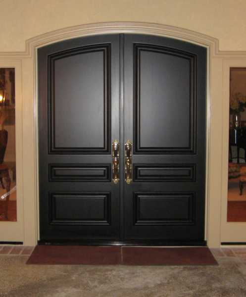 image detail page for Solid_Black_Doors