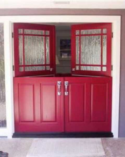 image detail page for Painted dutch double front entry doors